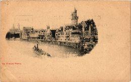 CPA PARIS EXPO 1900 Le Vieux Paris. (576115) - Expositions