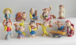 Kinder 2007 : Série Complète : Les Singes Karaté (11 Figurines) - Dibujos Animados