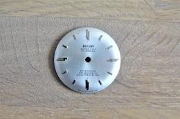 Watches PARTS : DIAL HELSA SUPER FLAT** - Color : Silver - Original Vintage - Swiss Made - Autres