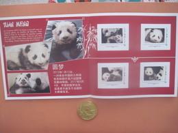 Collector Du Bébé Panda Né En France (zoo De Beauval 2017) : 4 Timbres Prioritaires (+ Envoi Suivi Gratuit) - Collectors