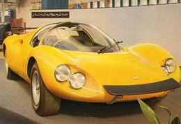 Dino Ferrari Pinin Farina  -  Carte Postale - Voitures De Tourisme