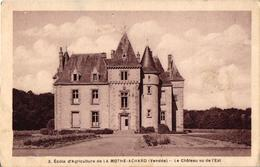 85 .. ECOLE D'AGRICULTURE DE LA MOTHE ACHARD ... LE CHATEAU - La Mothe Achard