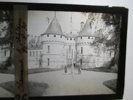 CHATEAU DE CHAUMONT  - Plaque De Verre Stéréoscopique  6 X 13 -   1930   TBE - Glass Slides