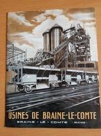 Braine-le-comte Usine De Wagons De Chemin De Fer, Chaudronnere,voiture De Chemin De Fer Et Tramways,ponts . - Cultural