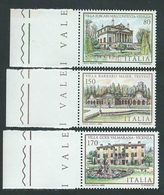Italia, Italy, Italien 1980; Ville: Foscari-Malcontenta, Barbaro-Maser, Godi, Opere Del Palladio;serie Completa Di Bordo - Monumenti