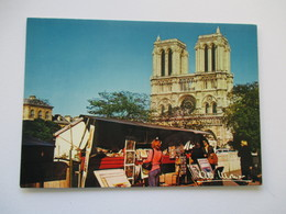 Paris Les Bouquinistes - Cathedrale  Notre Dame De Paris Albert Monier - Notre Dame De Paris