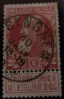Belgique COB N°74 Obl.Synghem - 1905 Grove Baard