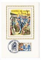 Carte Maximum 1971 - Journée Du Timbre 1971 - YT 1671 - 92 Courbevoie - Maximumkarten