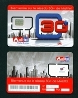 MALI - Mint/Unused SIM Card With Intact Chip - Malitel - Mali