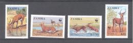 Zambia  Michel #  438 - 41  ** - Game