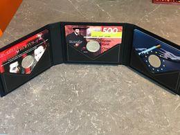 SUPER RARE: Boite Avec 3 Sets 3 X 500 Francs 1999-2000-2001 *QP* Quality Proof - ARGENT PUR - 1993-...: Alberto II