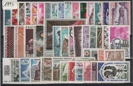 FR-C73 - FRANCE Année Complète Neuve** 1er Choix 1973 - 1970-1979