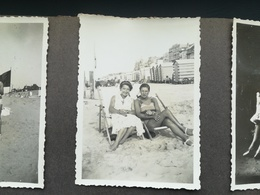 150  PHOTOS ORIGINALES NOIR-BLANC ANNÉES 1950 ET ANTÉRIEURES DONT DEUX ALBUMS DE FAMILLE DE BELGIQUE - Persone Anonimi