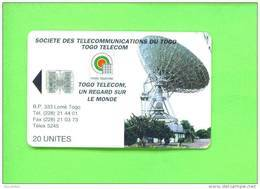 TOGO  -  Chip Phonecard As Scan - Togo