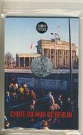10 Euro Frankreich 2019 Silber Im Blister 30 Jahre Berliner Mauerfall   (55840-4) - Frankreich