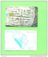 SERBIA (MOSTAR) - Chip Phonecard/Carved Stone - Joegoslavië