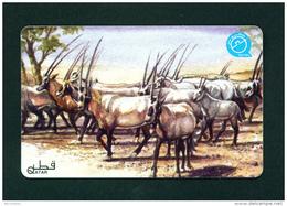 QATAR - Magnetic Phonecard As Scan - Qatar