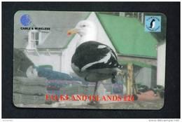 FALKLAND ISLANDS - Remote Phonecard As Scan - Falkland Islands