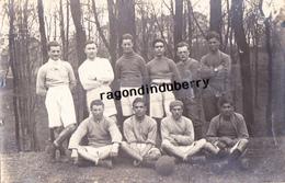 CPA PHOTO - POLOGNE - TESCHEN -CIESZYN - MILITARIA - EQUIPE De FOOTBALL De SOLDATS POLONAIS Conflit POL TCH 1920 - Poland