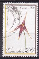 Vanuatu Flore Bulbophyllum Longiscapum N°656 Oblitéré - Vanuatu (1980-...)