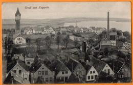 GRUSS AUS KAPPELN  -  VUE GENERALE   -  Juillet  1916 - Kappeln / Schlei