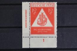 SBZ, MiNr. 228, Ecke Li. Unten Mit DZ, Postfrisch / MNH - Zone Soviétique