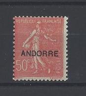 ANDORRE. YT  N° 15   Neuf **  1931 - Andorre Français