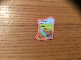 """Magnet Département Le Gaulois """"53 MAYENNE"""" (péniche) - Magnets"""
