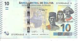 Bolivia New 10 Bolivianos 2018 UNC - Bolivie