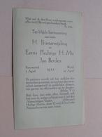 Herinnering H. PRIESTERWIJDING En H. Mis JAN BERDEN 1 April Roermond - 16 April Blerik 1933 ! - Religione & Esoterismo