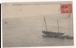 PORT EN BESSIN - Renflouement Du St Sébastien 1908 - Port-en-Bessin-Huppain