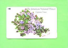 JAMAICA - Magnetic Phonecard/National Flower - Jamaica