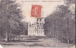 CPA - 42. ENV D'YVETOT - Château De Baons Le Comte - Yvetot