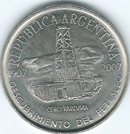 Argentina - 2007 - 2 Pesos - Centenary Of Oil Discovery - Chubut - KM145 - Argentine