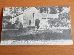 Monceau -sur-sambre Belle Photo 19,5cmx11cm  Sur Dépliant Carton Le Moulin - Charleroi