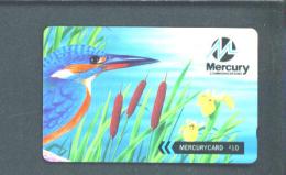 UK - Magnetic Phonecard/Mercury/Kingfis Her - [ 4] Mercury Communications & Paytelco