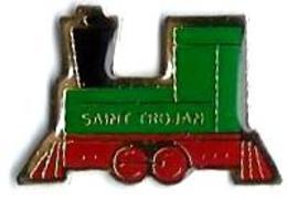 P'TITS TRAINS - P242 - TRAMWAY TOURISTIQUE DE ST TROJAN 17 - Verso : CHA...GE - TGV