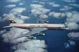 Avion / Airplane / Japan Air Lines  / Douglas DC-8 / Airline Issue - 1946-....: Ere Moderne
