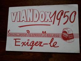 L18/18 Buvard. Viandox - Alimentare