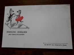 L18/19 Buvard. Zebraline. Zebracier - Pulizia