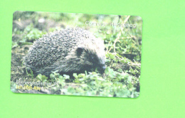 JERSEY - Magnetic Phonecard As Scan/Hedgehog - Ver. Königreich
