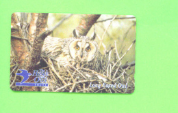 JERSEY - Magnetic Phonecard As Scan/Owl - Ver. Königreich