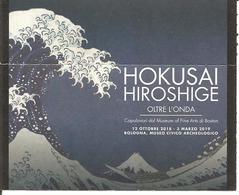 Biglietto - 2019 BOLOGNA Hokusai Hiroshige Oltre L'onda Capolavori Del Museum Of Art Di Boston Al Museo Archeologico - Biglietti D'ingresso