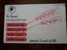 L18/21 Buvard. Les Farines Jacquemaire - Alimentare