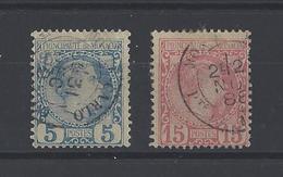MONACO. YT  N° 3-5  Obl  1885 - Monaco