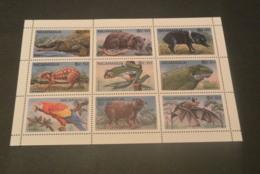M4873 - Sheet MNh Nicaragua 1995 - Animals - Briefmarken