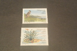 K19354 -set MNH Austria 1991 - Falcon - And Posidonia - Aigles & Rapaces Diurnes