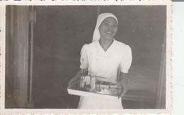 Vietnam : Saigon :1949 : Infirmière De La Salle Officiers - H. Huang-ho : Annamite - 8,7cm X 5,8cm  - Militaire - Guerra, Militari