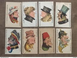 Lot 18 Cartes TAILLEURS PARIS - Chromos
