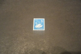 K19538 -stamp MNH Japan 1971 - Swan - Cygnes